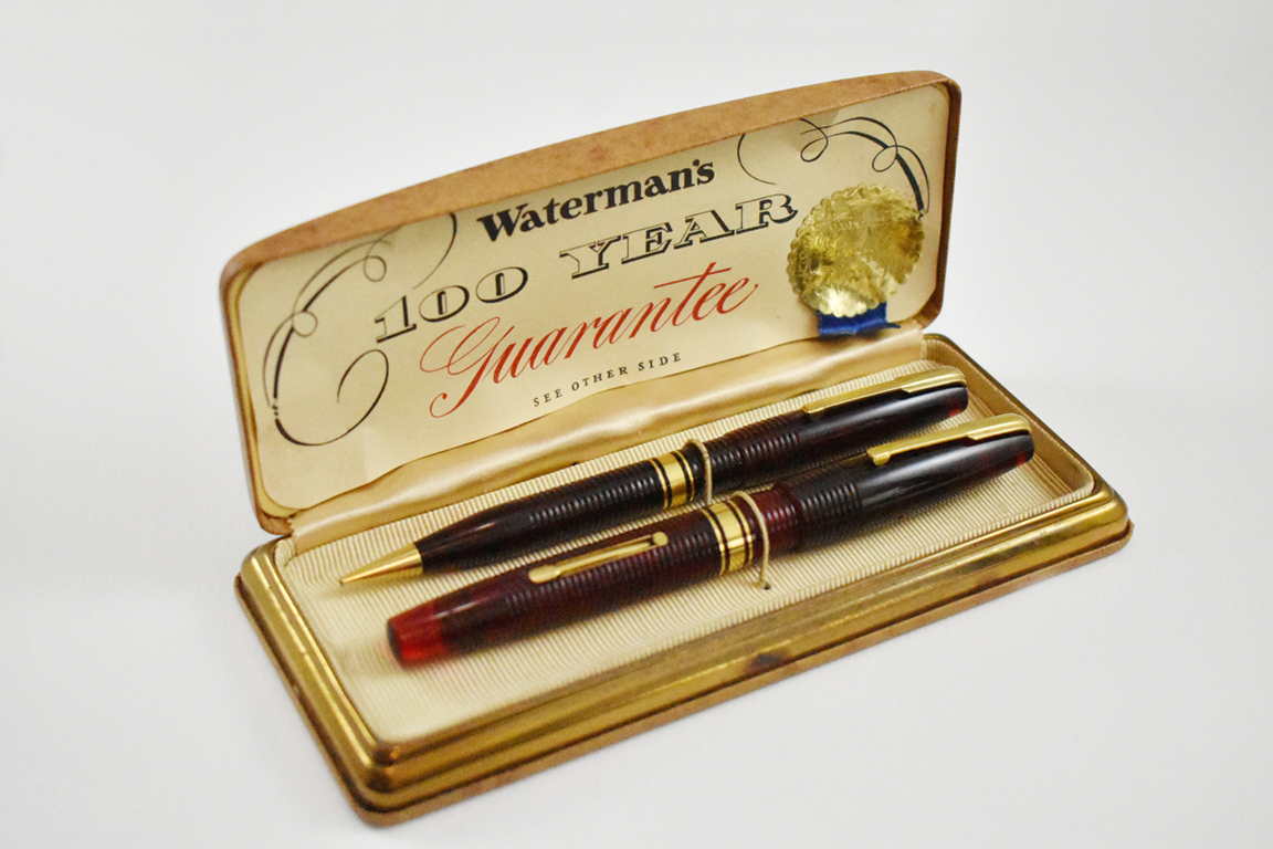 Waterman 100yr red in box16
